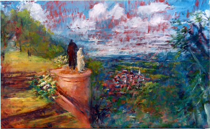 The Last Temptation | Oil on Canvas