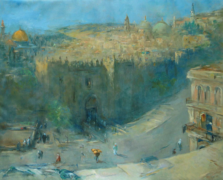 The Damascus Gate | Oil on Canvas