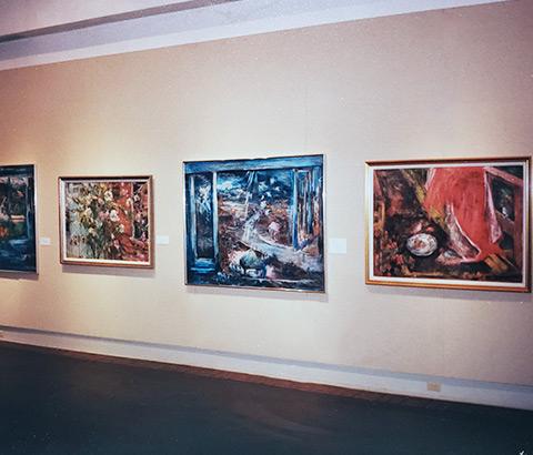 Miriam McClung Exhibition. Museum of Biblical Art, Dallas, Texas.