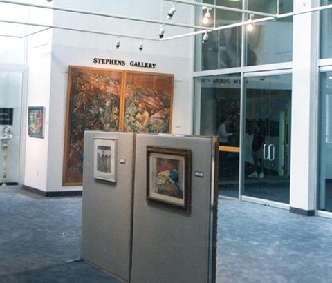"""Jesus & Beyond"" Exhibit at the Stephens Gallery, Walton Fine Arts Center, University of the Ozarks."