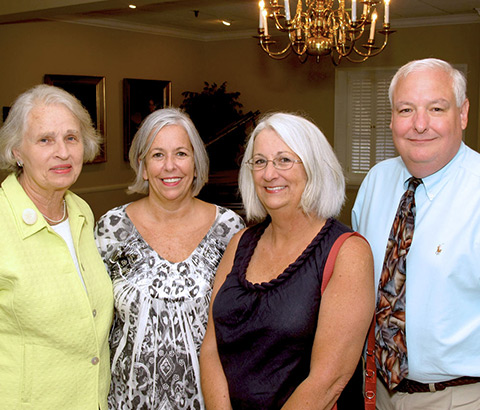Left to right: Miriam McClung, Lulu McClung, Kathy Edwards, Dr. Tim Edwards (sponsors). Photo credit: Ivy Jackson