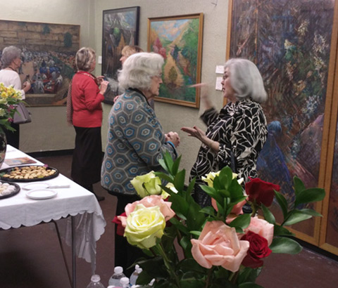 Solo exhibit at the Crowe Building in Birmingham, Alabama in 2015.